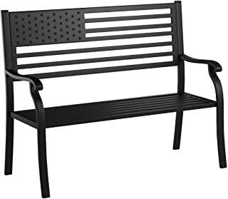Oakland Living American Pride Bench