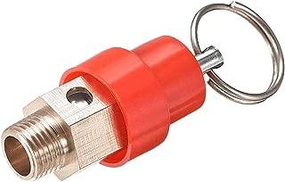LAQI Presión Compresor de Aire Red Hat Válvula de Alivio de presión Liberación G 1/8