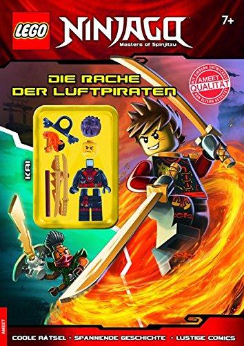 LEGO Ninjago: Die Rache der Luftpiraten (Rästelbuch mit Minifigur)