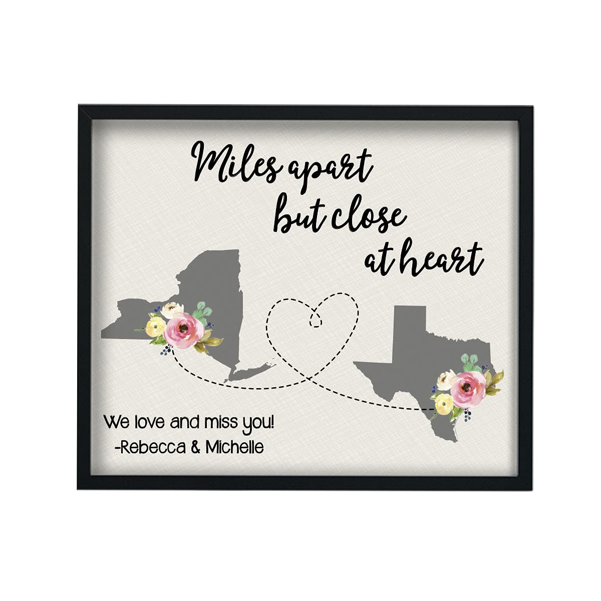 Two State Print to Sign Gift Max 88% OFF Super intense SALE Long Distance Goi