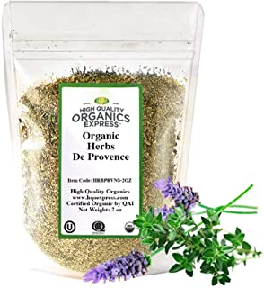HQOExpress | Organic Herbs De Provence | Certified USDA Organic | 2 oz. Bag