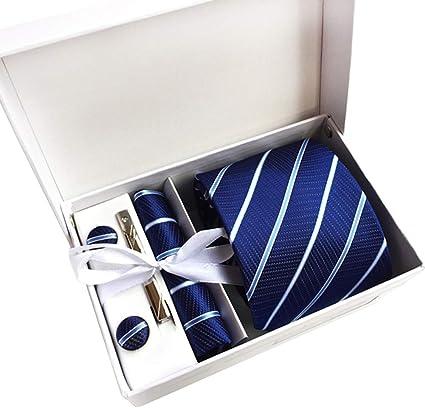 Meigold Juego de gemelos de corbata para hombre, diseño ...