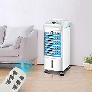 LCLLXB Mini Aire Acondicionado Portátil Humidificador y Purificador 3 en 1, Ventilador de Refrigeración USB de 3 Velocidades para Hogar Oficina Acampada