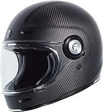 TORC Unisex-Adult Full-face-Helmet-Style Motorcycle (Carbon Fiber Matte Black, Medium)