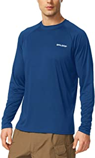 Men's UPF 50+ UV Sun Protection Outdoor Long Sleeve Performance T-Shirt