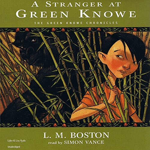 A Stranger At Green Knowe audiobook cover art