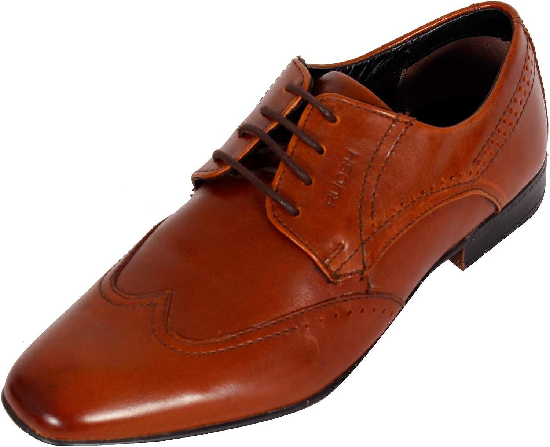 Ruosh Men's Tan Formal shoes-7 UK India (40 EU)(AW18 Mattia 04C)