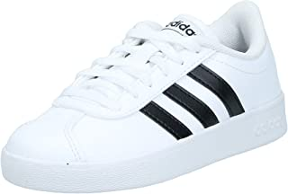 adidas VL Court 2.0, Unisex Kids' Shoes, White (Ftwr White/Core Black/Ftwr White), 11 UK (29 EU)