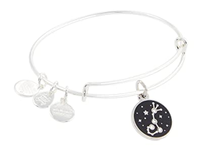 Alex and Ani Color Infusion Scorpio Bangle Bracelet (Shiny Silver) Bracelet