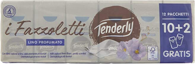 Tenderly Dermo3Plus Formula Anti-Redness Tissues- 1 Pack of 12Packets