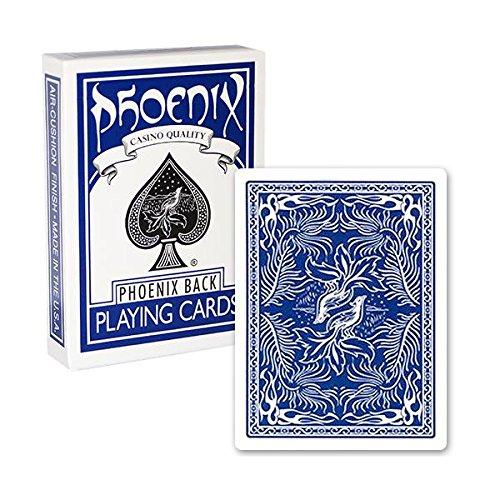 US Playing Cards Mazzo di Carte Phoenix Dorso Blu