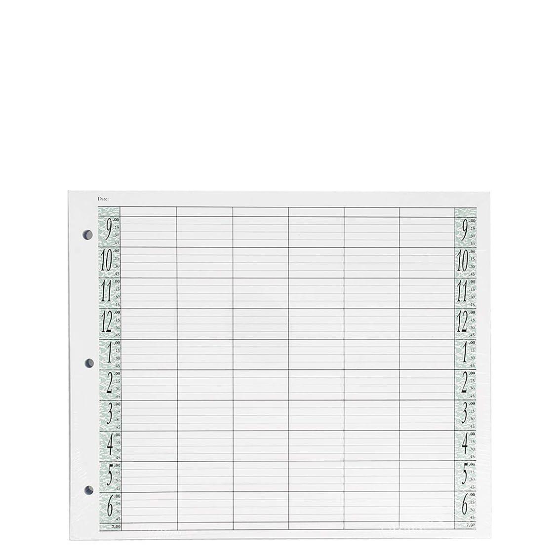 実施するシャーク民族主義アジェンダ サロンコンセプト ルーズリーフリフィル6色100枚LL6 / Z3[海外直送品] [並行輸入品]