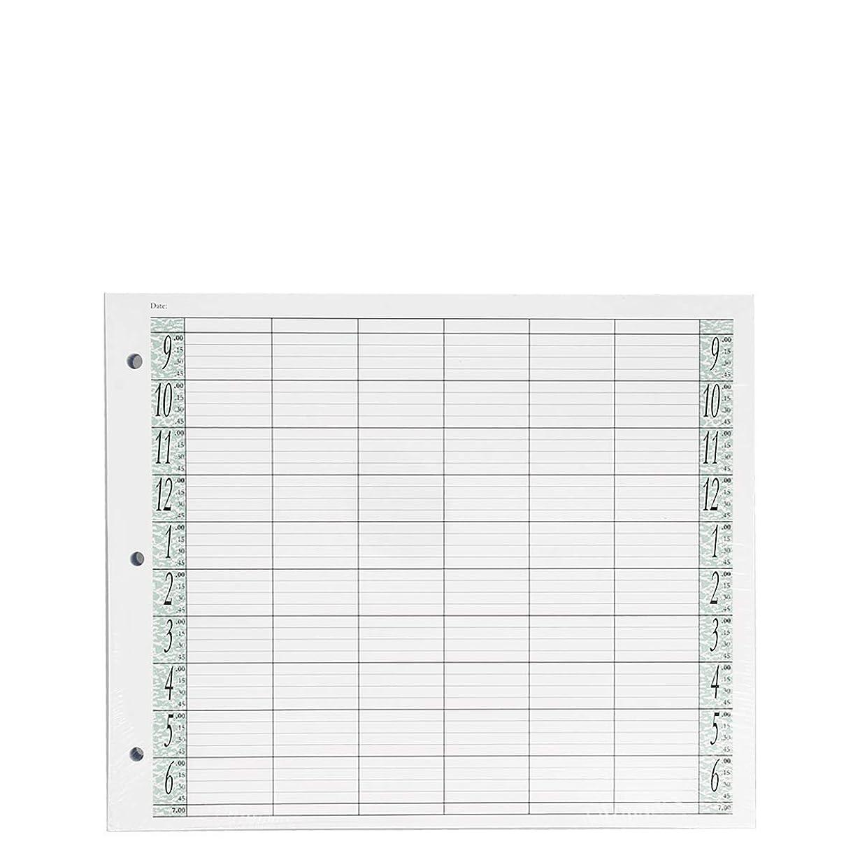 恐れるクモ食堂アジェンダ サロンコンセプト ルーズリーフリフィル6色100枚LL6 / Z3[海外直送品] [並行輸入品]