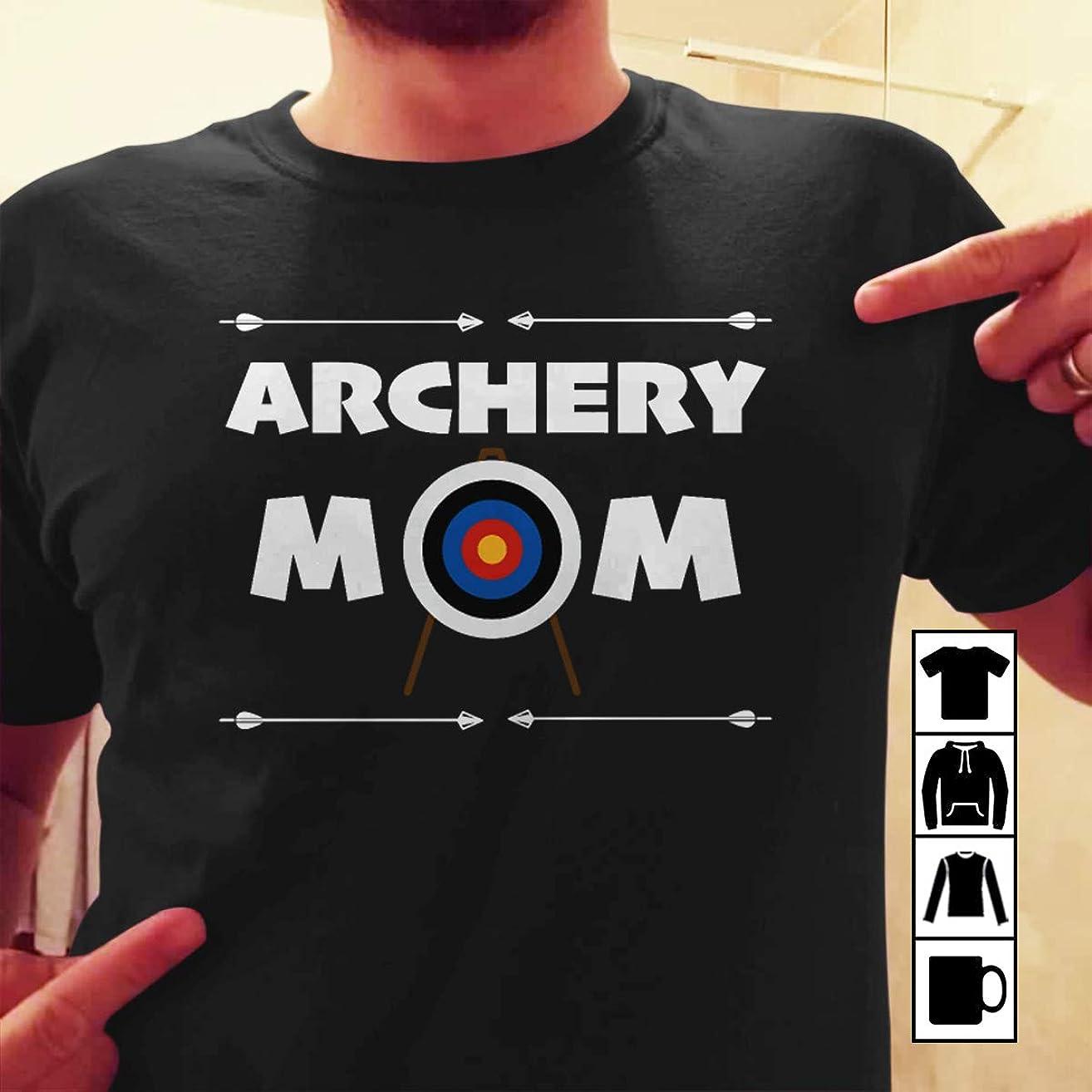 Bowman Archer Archery Mom funny target T Shirt Long Sleeve Sweatshirt Hoodie Youth