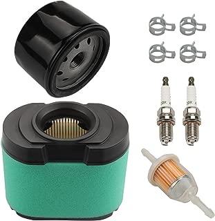 Harbot MIU11515 LA155 Air Filter for John Deere LG264 LA165 LA175 L120 L118 LA140 LA150 D150 D160 D170 Z425 E160 Lawn Mower with Maintenance Kit (Two Cylinder Engine)