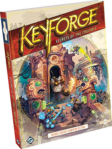 Fantasy Flight Games Genesys KeyForge: Secrets of The Crucible - English