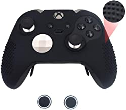 Taifond Anti-Slip Silicone Controller Cover Protective Skins for Microsoft Xbox One Elite Controller with Two Thumb Grip C...