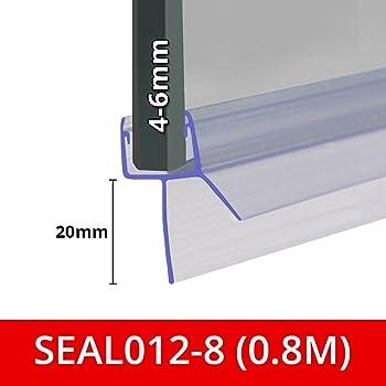 7 mm 8 mm UKM02 Joint de Remplacement 1 Pi/èce 150 cm STEIGNER Joint Magn/étique pour les Vitres d/'une /Épaisseur 6 mm