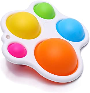 NOBYTIM Baby Toys Kids Early Education Toys Sensory Toys, Silicone Fidget Toy, Gifts for Babies and Toddlers Ages 10 Month...