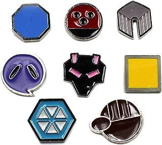 all johto gym badges