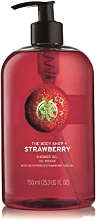 The Body Shop Strawberry Shower Gel 750ml - Cleanse and develop your skin in softness.