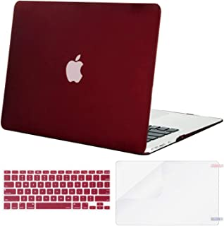 Lacdo - Carcasa rígida para MacBook Air de 13 Pulgadas con Protector de Pantalla y Teclado para Apple MacBook Air de 13 Pu...