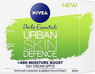 NIVEA Daily Essentials Urban Skin Defence Day Cream SPF15, 50ml