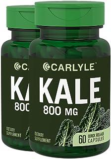 Carlyle Kale Extract 800 mg | 2 botellas – 60 cápsulas |