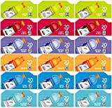 Vending-World - 18 Vending Machine Flavor Strips (These are NOT PODS OR Product), Gatorade, 6 Flavors, Lemon Lime, Riptide Rush, Fruit Punch, Orange, Cool Blue, Glacier Frost, 3 of Each Flavor Strip