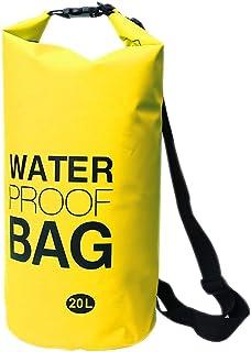ウォータープルーフバッグ 20L ビーチバッグ ショルダーバッグ バッグ バック かばん 簡易防水 ウォータープルーフバック プール 海水浴 小物いれ |ER-WPBAG20