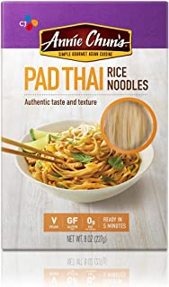Annie Chun's Gluten-Free Rice Noodles, Pad Thai, Vegan, 8-oz (Pack of 6)