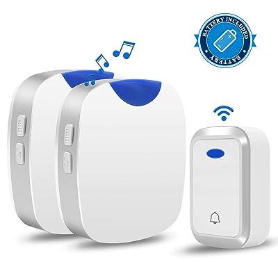 Agedate Newest 2019 Wireless Doorbell Battery P...