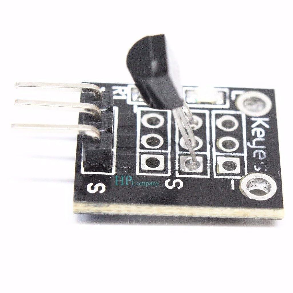 ニュース偉業哲学博士WillBest 40PCS KY-001 DS18B20 3pin Temperature Measurement Sensor Module for Arduino Diy KY001