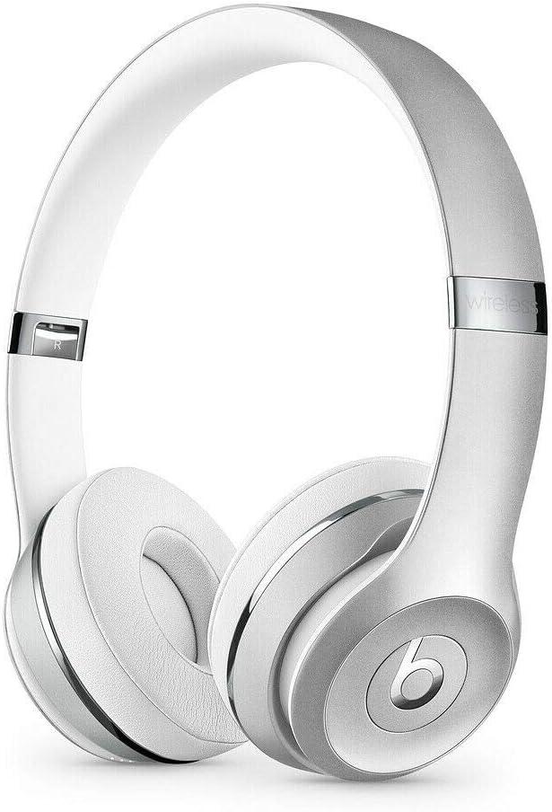Beats by shop Dr. Dre - Solo3 Silv Wireless Store On-Ear Headphones