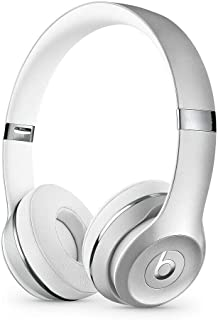Beats by Dr. Dre - Beats Solo3 Wireless On-Ear Headphones - Silver (Renewed)