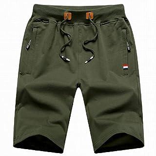 Pantalones Cortos de Verano 2020 para Hombres Pantalones Cortos Deportivos Casuales Tejer Pantalones Casuales Tendencia