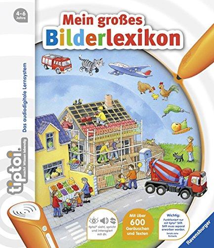 tiptoi® Bilderbuch: tiptoi® Mein großes Bilderlexikon von Susanne Gernhäuser (1. September 2012) Pappbilderbuch