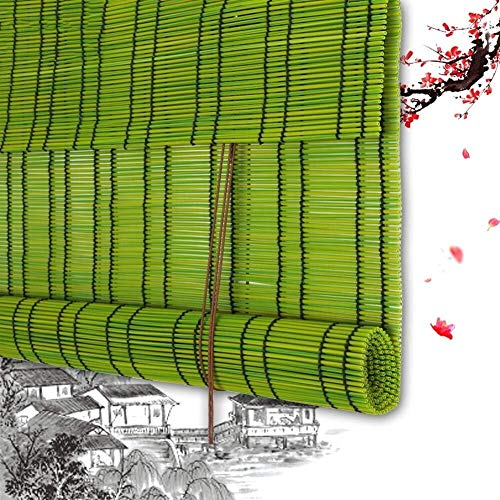 Persiana Enrollable De Bambú Persiana Enrollable Persianas Romanas De Bambú Privacidad Persianas Enrollables De Madera - Persianas Enrollables Plástico PE A La Ventana Veranda Conservatory Personaliza