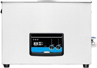 CGOLDENWALL Nettoyeur à ultrasons 15 L pour machine de nettoyage à ultrasons pour pièces de vélo, carte PC