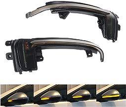 DokFin LED retrovisor indicador Luminoso luz Intermitente Intermitente dinámico para A3 S3 8P 2010-2012 A4 S4 B8 8K 2012-2015 A5 S5 RS5 B8