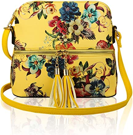 EVEOUT Ladies Genuine Leather Purses Crossbody Satchel Evening Bag Small Shoulder Clutch bag Phone Wallets for Girls and Women