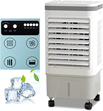 Zyf Air Conditioner 13,000 BTU Portable Air Conditioner, Mechanical Air Cooler, 10L Floor-Standing Air Conditioner, 3-Speed Fan for Bedroom Living Room Office
