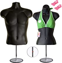 Best male mannequin torso with stand Reviews