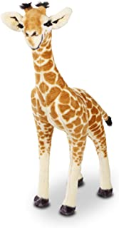Melissa&Doug 40431 Standing Baby Giraffe Plush   Soft Toy   Animal   All Ages   Gift for Boy Or Girl, 0.9M