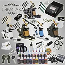 Inkstar Tattoo Kit ACE 5 Machine Gun TKI5C20 + Needle + Power Supply + Inks