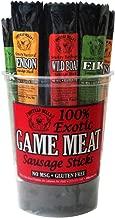 Buffalo Bills 100% Exotic Game Meat Sausage Sticks (mixed 1oz sticks - elk, venison and wild boar)