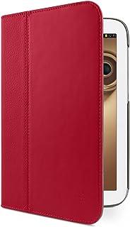 Belkin Genuine Leather Multi Tasker Pro Multi Viewing Folio Cover Case for 8 inch Samsung Note - Rose