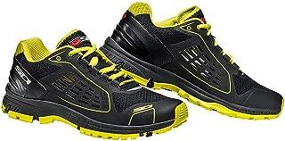 Sidi Approach Motorcycle Sneaker (Black/Yellow) Size 12.5 US/47 EU