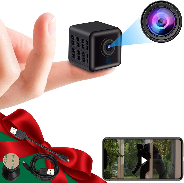 Wireless Security Cameras,Baby Camera,Nanny Cam,Home Security Camera, Indoor/Outdoor Full HD 1080P Video Camera,WiFi Cameras,Mini Surveillance Camera, 2021 Newest Version