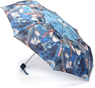 Ultralight and Windproof Folding Umbrella Gift Umbrella Sun Protection UV Umbrella Art Style Blue LJJOZ